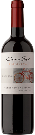 2013 Cono Sur Bicicleta Cabernet Sauvignon, Central Valley, Chile (750ml)