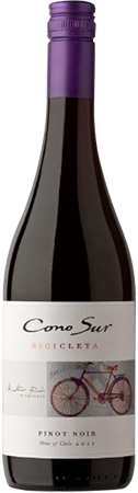 2013 Cono Sur Bicicleta Pinot Noir, Central Valley, Chile (750ml)