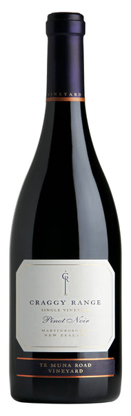 2014 Craggy Range Te Muna Road Vineyard Pinot Noir, Martinborough, New Zealand (750ml)
