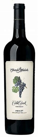 2012 Chateau Ste. Michelle Cold Creek Vineyard Merlot, Columbia Valley, USA (750 mL)