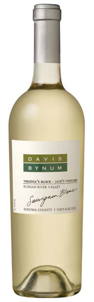 2013 Davis Bynum Virginia's Block Jane's Vineyard Sauvignon Blanc, Russian River Valley, USA (750 mL)