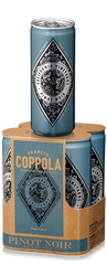 Francis Ford Coppola Diamond Collection Pinot Noir Cans (case, 6 x 4pk 250ml cans)