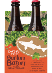 4pk-Dogfish Head Burton Baton Oak-Aged India Pale Ale Beer, Delaware, USA (12oz)