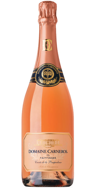 Domaine Carneros by Taittinger Brut Rose Sparkling Cuvee de la Pompadour, Napa Valley, USA