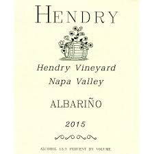 2015 Hendry 'Hendry Ranch' Albarino, Napa Valley, USA (750ml)