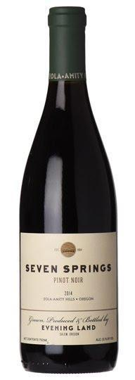 2017 Evening Land 'Seven Springs' Eola-Amity Hills Pinot Noir, Oregon, USA (750ml)