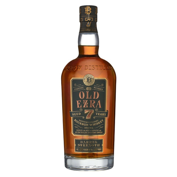 Old Ezra Brooks 7 Years Old Barrel Strength Kentucky Straight Bourbon Whiskey, USA (750ml)