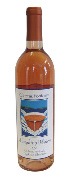 2017 Chateau Fontaine Laughing Waters Dry Rose, Leelanau Peninsula, USA (750ml)