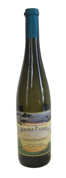 2013 Chateau Fontaine Semi-Dry Gewurztraminer, Leelanau Peninsula, USA (750ml)