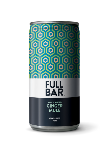 FULLBAR Ginger Mule, USA (4 cans X 200ml)
