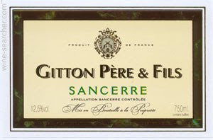 2014 Gitton Pere & Fils Sancerre, Loire, France (750ml)