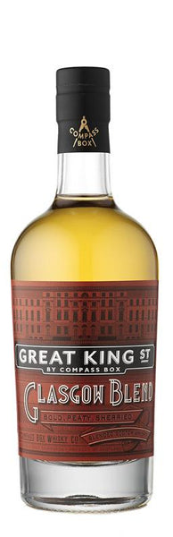 Compass Box Great King St Glasgow Blend Blended Scotch Whisky, Scotland (750ml)
