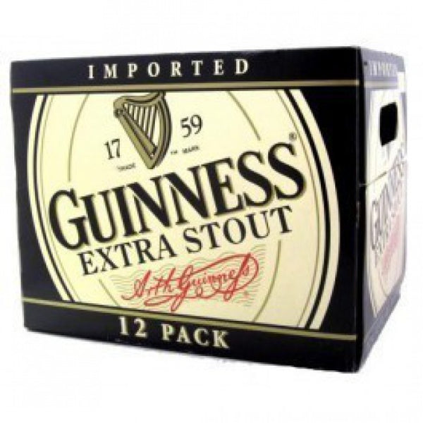 12pk-Guiness Extra Stout Beer, Ireland (330ml)