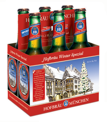 6pk-Hofbrau Winter Spezial Beer, Germany (330ml)
