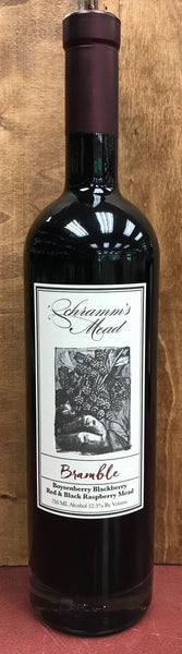 Schramm's Bramble Boysenberry Blackberry Red & Black Raspberry Mead, Michigan, USA (750ml)