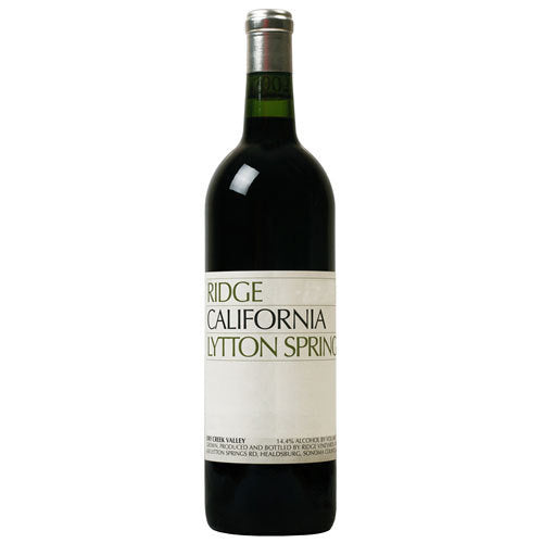2017 Ridge Vineyards Lytton Springs, Dry Creek Valley, USA (750ml)