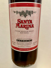 NV Santa Marina Medium Sweet Red, Patras, Greece (750ml)