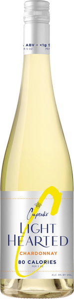 NV Cupcake Vineyards 'Light Hearted' Chardonnay, California, USA (750ml)