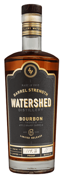 Watershed Distillery Barrel Strength Bourbon, Ohio, USA (750ml)