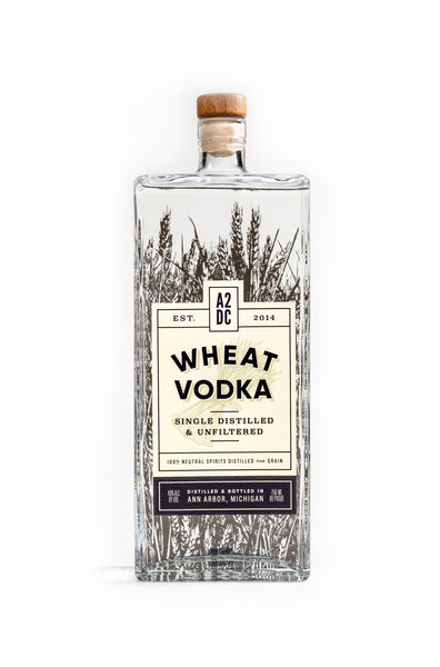 Ann Arbor Distilling Wheat Vodka, Michigan, USA (750ml)