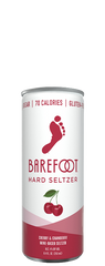 (4pk) Barefoot Cellars Cherry & Cranberry Hard Seltzer, California, USA (250ml)