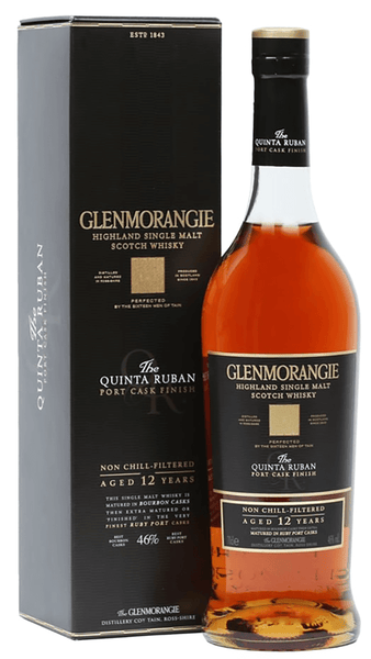 Glenmorangie 'The Quinta Ruban' 12 Year Old Port Cask Extra Matured Single Malt Scotch Whisky, Highlands, Scotland