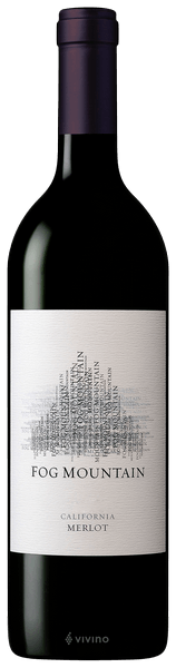 2018 Fog Mountain Merlot, California, USA (750ml)