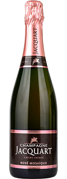 NV Jacquart Mosaique Brut Rose, Champagne, France (750ml)