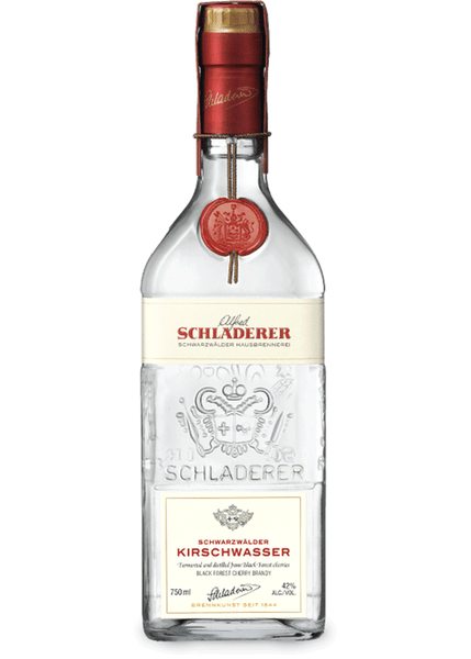 Schladerer Schwarzwalder - Black Forest Kirschwasser - Cherry Eau-de-Vie, Baden, Germany (375ml) HALF BOTTLE