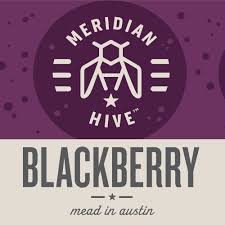 (24pk Cans) Meridian Hive Blackberry Mead, Texas, USA (12oz)