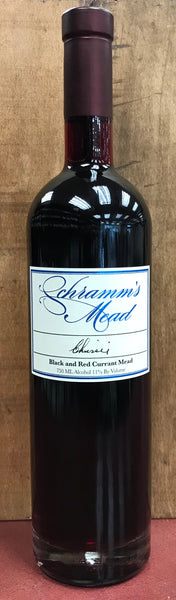 Schramm's Chrissie Black And Red Currant Mead, Michigan, USA (750ml)