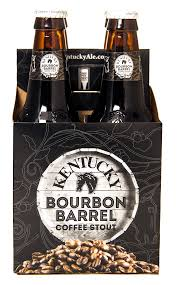 4pk-Kentucky Bourbon Barrel Stout Beer, Kentucky, USA (12oz)