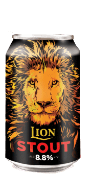 (24pk cans)-Lion Stout Beer, Sri Lanka (330ml)