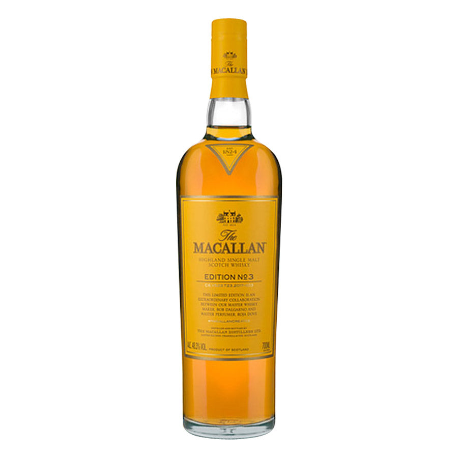 The Macallan Edition No 3 Single Malt Scotch Whisky, Speyside - Highlands,  Scotland (750ml)