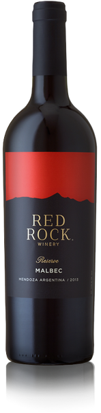 2016 Red Rock Winery Reserve Malbec, Mendoza, Argentina (750ml)