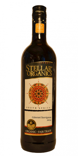 2018 Stellar Winery Organic Cabernet Sauvignon, Coastal Region, South Africa (750ml)