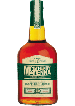 Henry McKenna Single Barrel 10 Year Old Bourbon Whiskey, Kentucky, USA (750ml)