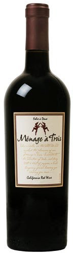 2017 Folie a Deux Menage a Trois Red, California, USA (750ml)