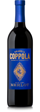 2016 Francis Ford Coppola Diamond Collection Blue Label Merlot, California, USA (750ml)