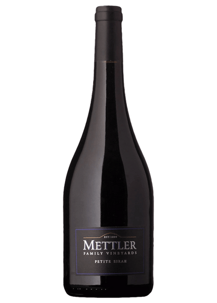 2015 Mettler Family Vineyards Petite Sirah, Lodi, USA (750ml)