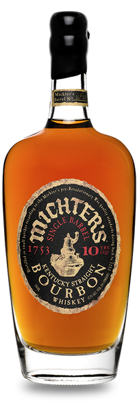 Michter's 10 Year Old Single Barrel Bourbon Whiskey, USA (750ml)