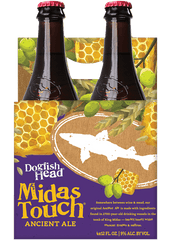 4pk-Dogfish Head Midas Touch Ancient Ale Beer, Delaware, USA (12oz)