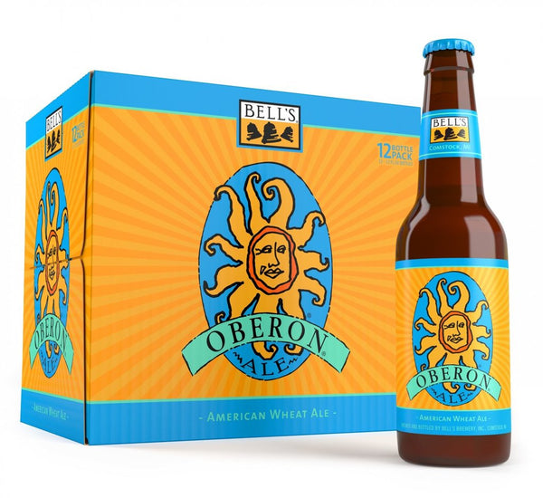 12pk-Bell's Oberon American Wheat Ale Beer, Michigan, USA (12oz)