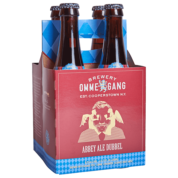 4pk-Ommegang Brewery Abbey Ale Dubbel Beer, New York, USA (12oz)