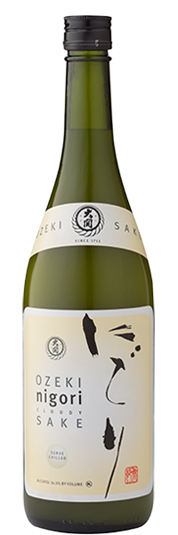Ozeki Nigori Unfiltered Sake, Japan (750ml)