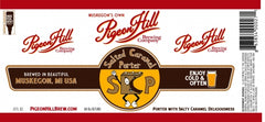 (6pk cans)-Pigeon Hill Salted Caramel Porter Beer, Michigan, USA (12oz)