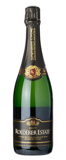 NV Roederer Estate Brut, Anderson Valley, USA (375ml) HALF BOTTLE