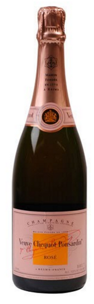 NV Veuve Clicquot Ponsardin Brut Rose, Champagne, France (750ml)