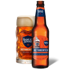 12pk-2019 Samuel Adams Octoberfest Beer, Massachusetts, USA (12oz)