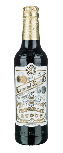 24pk-Samuel Smith's Imperial Stout Beer, England (12oz)